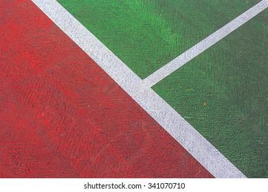 tennis court line