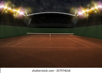 Tennis Court Stadium.