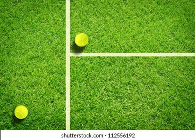 Tennis on grass