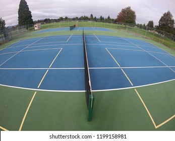 Tennis or Pickleball courts