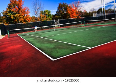 Tennis Playing Surface Known Hard Court Stock Photo Edit Now