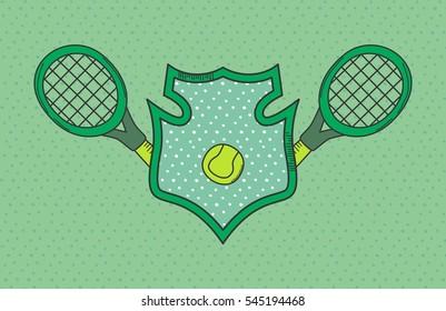 tennis sports icon theme