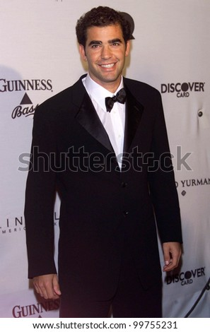 5cbfdd35f09 Tennis star PETE SAMPRAS at GQ Magazine s 5th Annual Men of the Year Awards  in New