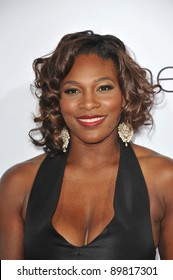 """Tennis star Serena Williams at the premiere of """"The Ugly Truth"""" at the Cinerama Dome, Hollywood. July 16, 2009  Los Angeles, CA Picture: Paul Smith / Featureflash"""