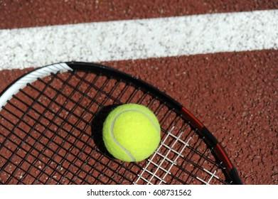 tens ball on court