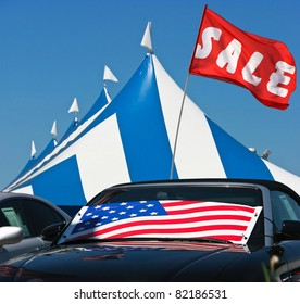 Tent Sale Event