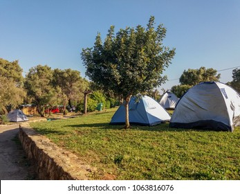 tent town in Ahziv