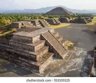 Teotihuacan Pyramid Ruins