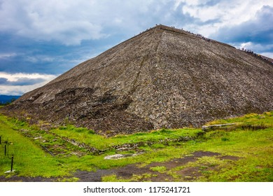 Teotihuacan Pyramids Mexico. July 2015.
