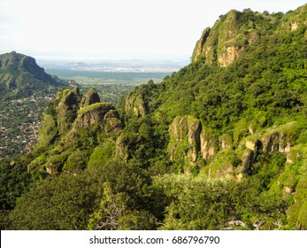 Tepoztlan mountains. Nature of Mexico. North America