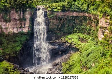 Tequendama waterfall in Cundinamarca (Colombia)