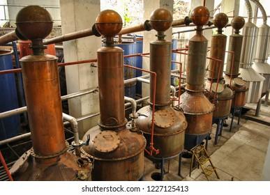 Tequila distillation process