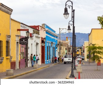 TEQUILA, MEXICO - January 1 2016 -The downtown of Santiago de Tequila, a town and municipality located in the state of Jalisco about 60 km from the city of Guadalajara.