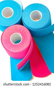 terapeutic self adhesive tapes, taping kinesiologico