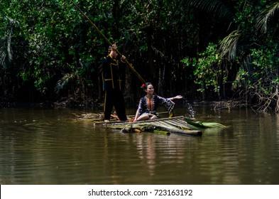 Terengganu Malaysia - 27th September 2017 :Kadazan Dusunis one of the largest ethnic in Malaysia