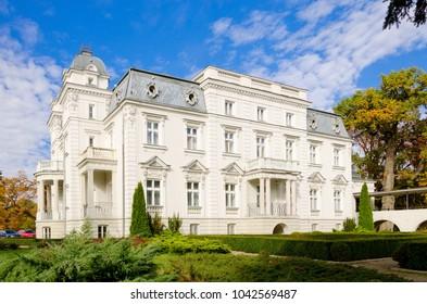 TERESIN, MASOVIA PROVINCE / POLAND - OCTOBER 12, 2016: Epstein's palace in Teresin (built 1890-1900) nearby Sochaczew.