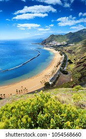 Teresitas beach landscape,Tenerife,Canary Islands,Spain
