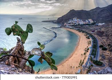 Teresitas Beach, San Andrés, Tenerife, Spain
