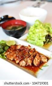 Teriyaki Grilled Chicken - Japanese Food