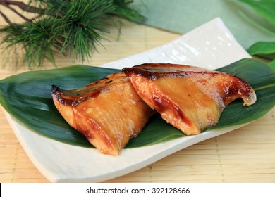 Teriyaki of the yellowtail