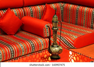 The term Majlis is used to refer a private place where guest are received and entertained, especially in the Islamic countries. It is particularly relevant during Ramadan