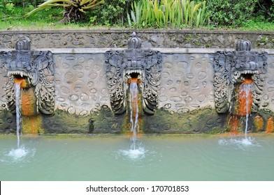 Termal Banjar hot springs. North Bali. Indonesia