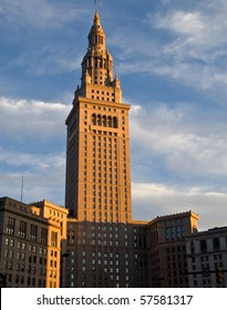 Terminal Tower, downtown Cleveland, Ohio