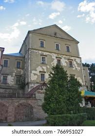Ternopil - June 12, 2010. Ternopil castle in Ternopil, Ukraine