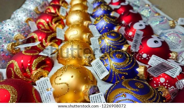 Ternopil Ukraine November 08 2018 Christmas Stock Photo