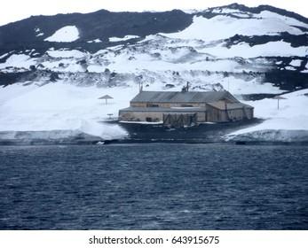 Terra Nova hut Cape Evans Antarctica