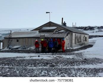 Terra Nova Hut Cape Evans