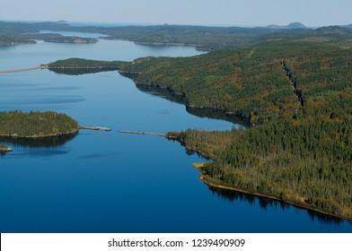 Terra Nova National Park, Newfoundland and Labrador. Canada