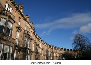 Terrace of Edinburgh Town Houses