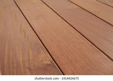 Terrace garden Wood Ipe brown