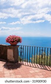 Terrace of luxury