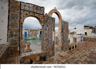 terrace of Medina, Tunis