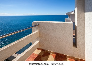 Terrace with a sea view