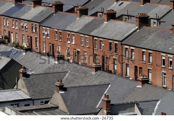 Terraced Street, North Inner City Dublin