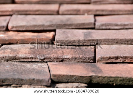 terracota roof tiles