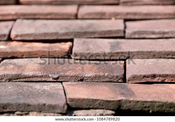 terracota roof tiles