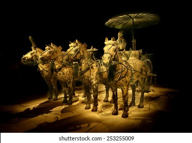 The Terracotta Army and Horses of Xian in China, 2014 December 12
