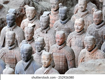 The Terracotta Army of Xian in China, 2014 December 12