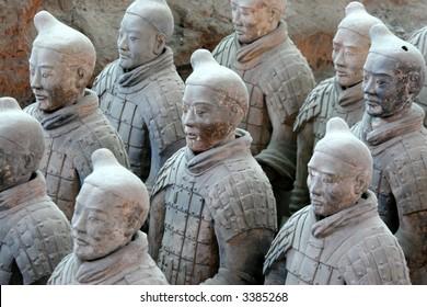 terra-cotta warriors