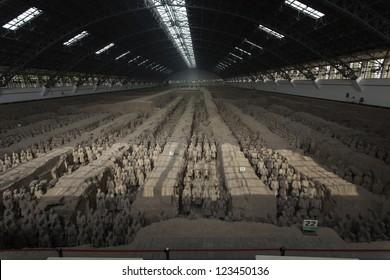 Terracotta warriors great hall