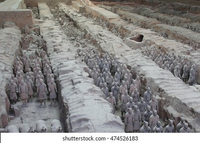 Terracotta Warriors view