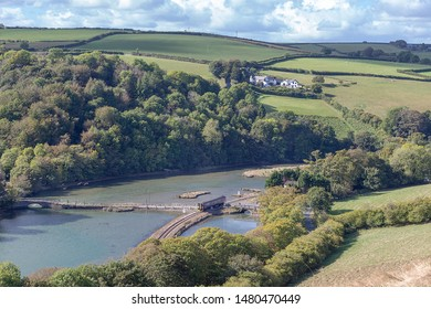 Terras Bridge on the east Looe River Cornwall