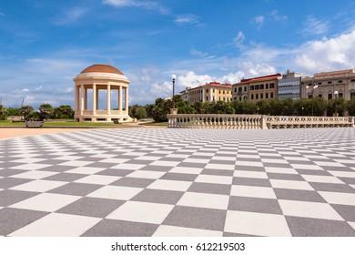 Terrazza Mascagni Livorno Tuscany Stock Photo (Download Now ...
