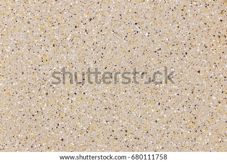 Terrazzo Brown Color Texture Background Is A Mixture Of Rock And Concrete Construction