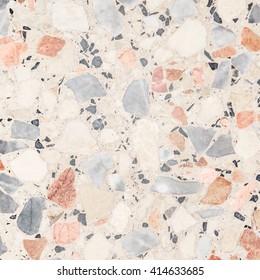 Terrazzo floor texture background