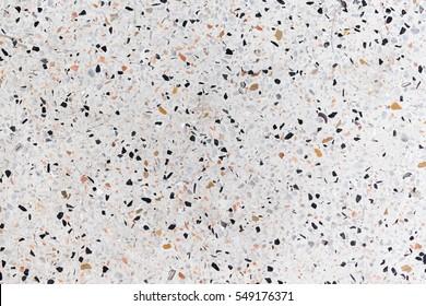 terrazzo floor texture white